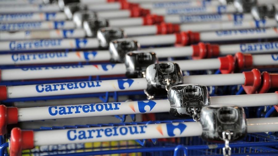 Carrefour entrou para os trending topics após bug nos preços no site - Philippe Huguen/AFP