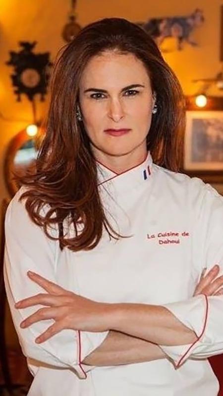 """À frente de sete restaurantes e do programa Hell""""s Kitchen, Danielle Dahoui diz que mulheres precisam ter atitude para conquistar seu espaço na cozinha - Lufe Gomes/Divulgação"""