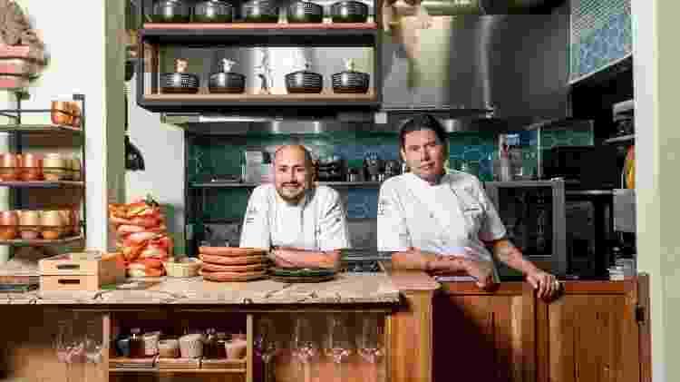 Jaime Rodríguez e Sebastián Pinzón - Divulgação