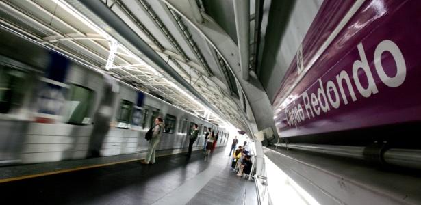 Estação do Capão Redondo da linha 5-lilás do metrô de São Paulo - Marcelo Justo - 10.ago.2008/Folhapress