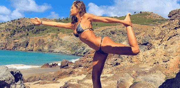 Grazi Massafera ioga 100 mil curtidas - Reprodução/Instagram - Reprodução/Instagram