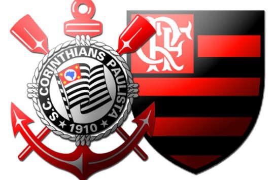 Resultado de imagem para Corinthians x Flamengo - Rede Continua