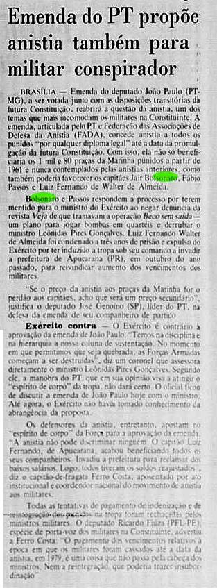 uol.com.br - PT pediu anistia para Bolsonaro - Esporte - UOL Esporte