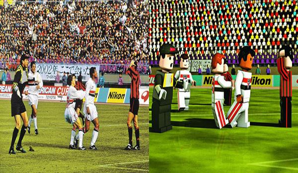 Provocação de Muller após gol do São Paulo no Mundial Interclubes de 1993 foi transformado em Lego por Gustavo Bacan / Crédito: Gustavo Bacan