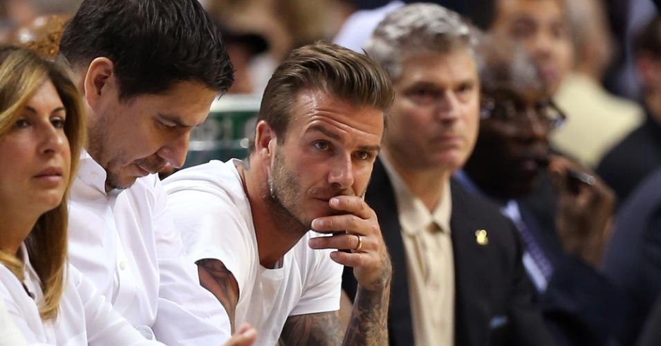David Beckham e MLS trabalham no anúncio do novo time em Miami - foto: Mike Ehrmann/Getty Images/AFP