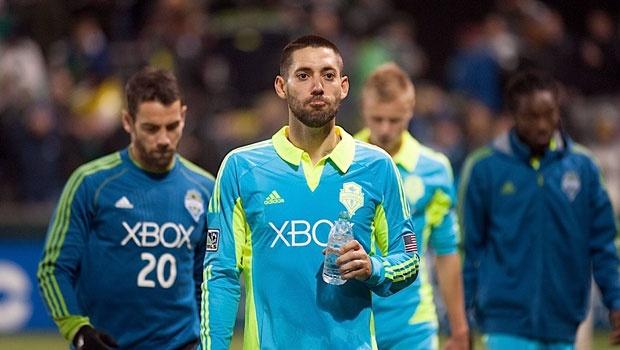 Clint Dempsey - Cortesia MLS/ Seattle Sounders