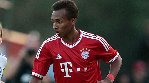 Julian Green atuando pelo Bayern de Munique - foto bundesliga.com