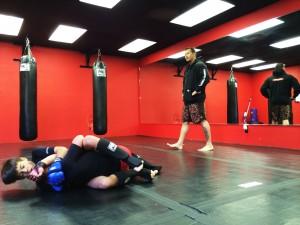 Dois dos filhos de Megan Hook treinam MMA - Arquivo pessoal Megan Hook