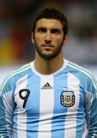 Gonzalo Higuaíns, atacante do Napoli e da seleção argentina - foto: Clive Brunskill/Getty Images