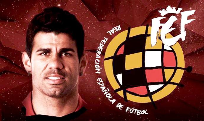 Diego Costa, atacante brasileiro naturalizado espanhol, será uma das atrações nos EUA - Divulgação
