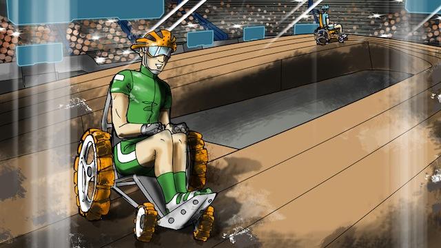 Cybathlon Cadeiras de Rodas