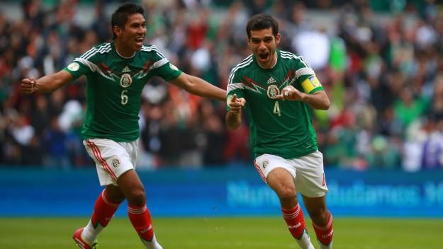 Adversário do Brasil na Copa, o México, de Rafa Marquez, fará 3 jogos nos EUA - foto Getty Images