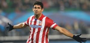 Diego Costa pode fazer nos EUA único amistoso antes da Copa - foto: REUTERS/Heinz-Peter Bader