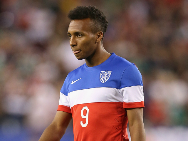 Julian Green, de 18 anos, ficou com a vaga de Donovan, de 32 - foto: Christian Petersen/Getty Images