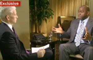 Magic Johnson em entrevista à CNN - Divulgação