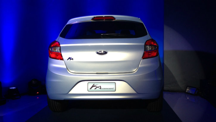 Novo Ford Ka (Foto: Carina Mazarotto/Bufalos TV)