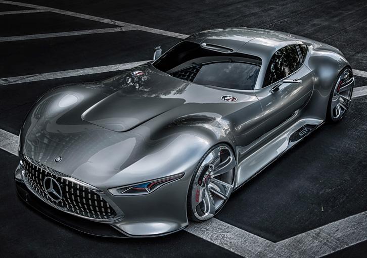 Mercedes-Benz AMG Vision (Foto: Divulgação)