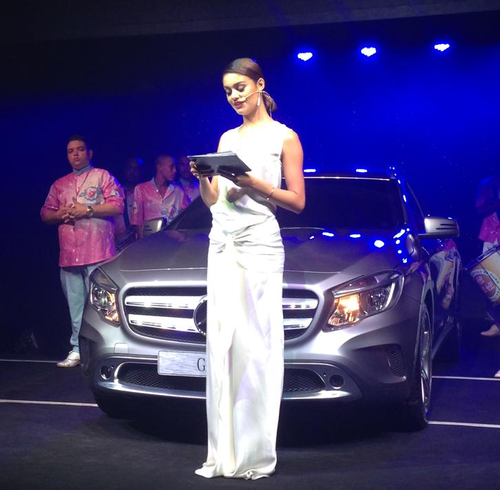 Sophie Charlotte apresenta novo GLA (foto: Carina Mazarotto/BufalosTV)