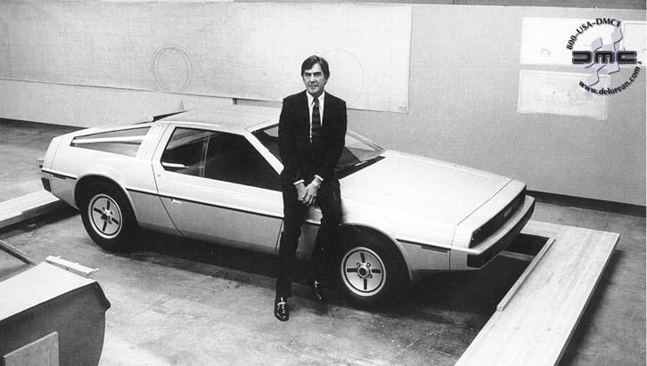 DeLorean_History