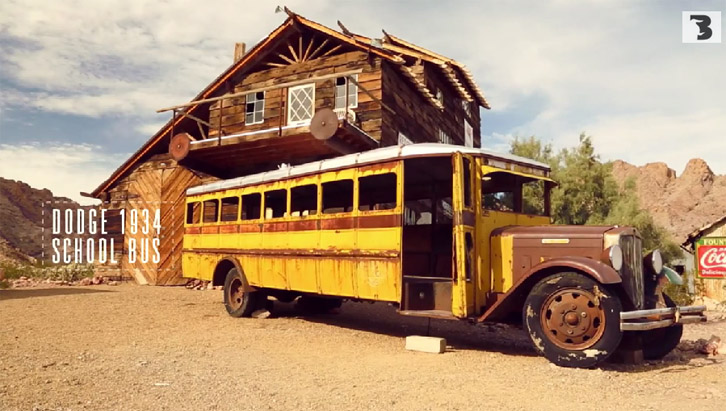 Dodge School Bus (Foto: Bufalos TV)