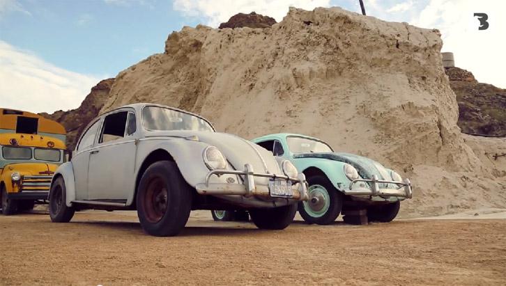 VW Fusca também é atração (Foto: Bufalos TV)