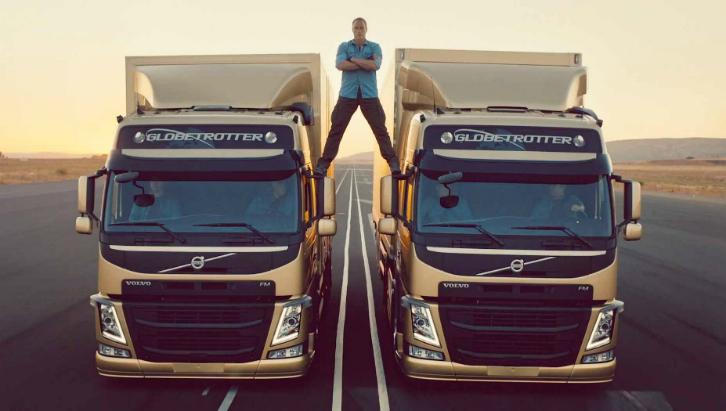 Comercial da Volvo com Van Damme foi eleito melhor propaganda para internet (Foto: Reprodução/Youtube)