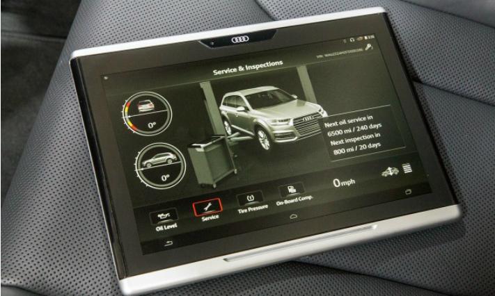 Audi Tablet (Divulgação)