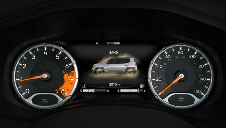 Painel de instrumentos com tela digital (Foto: Divulgação/Jeep)