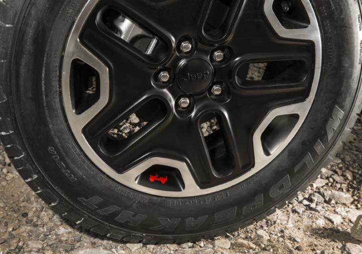 Rodas de 17 polegadas (Foto: Divulgação/Jeep)