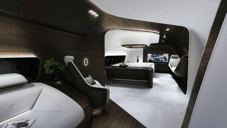 Mercedes apresenta conceito de jato (Foto: Divulgação)
