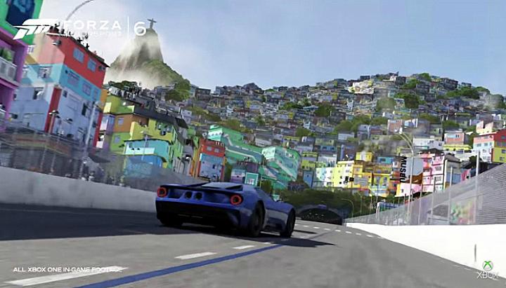 Forza 6 terá pista no Rio de Janeiro. (Foto: Divulgação)