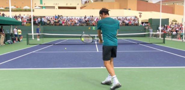 18ac2147a8 Federer  oito minutos de talento e um backhand de duas mãos - 20 03 2009 -  UOL Esporte