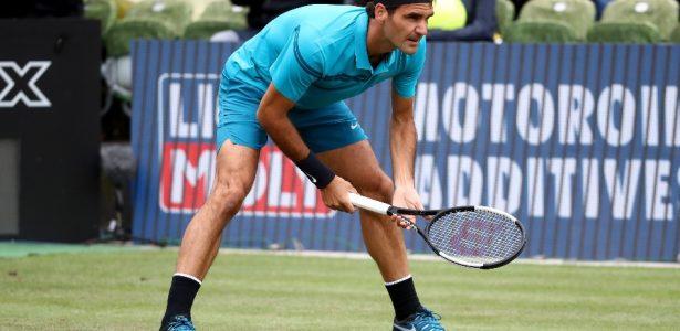 1c5db50d25 Federer mostra compreensível ferrugem no retorno - 20 06 2013 - UOL Esporte