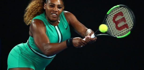4ffd5e6fda Serena domina saque de Bouchard e avança no Australian Open - 20 01 2017 -  UOL Esporte