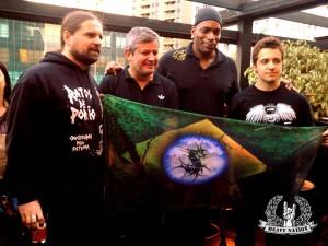 Sepultura lançou novo álbum em 2013 e tocou com lotação esgotada em todos os shows do segundo semestre no Brasil (FOTO: MARCELO MOREIRA)