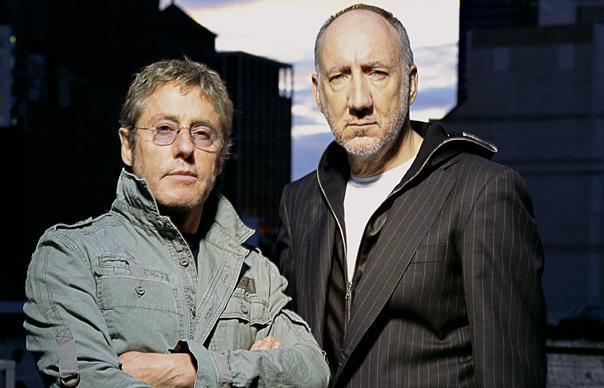 Roger Daltrey (esq.) e Pete Townshend, a dupla do Who, em foto promocional de 2013 (FOTO: DIVULGAÇÃO)