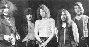 Imagem rara do Uriah Heep em 1970, pouco depois de gravar o primeiro álbum (FOTO: DIVULGAÇÃO)