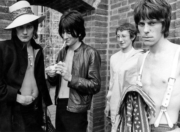 Jeff beck Group em 1968: Rod Stewart, Ronnie Wood, Mick Waller e and Jeff Beck (FOTO: Michael Ochs Archives/Getty Images)