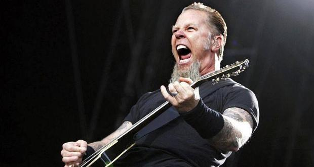 James Hetfield, guitarrista e vocalista do Metallica (FOTO: DIVULGAÇÃO)