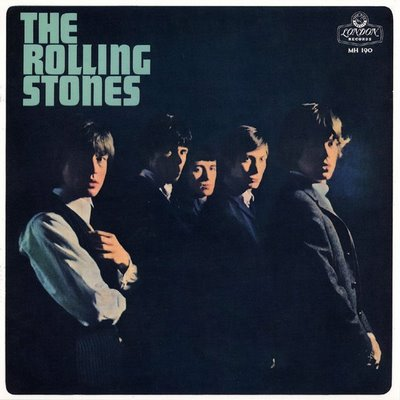 A capa do primeiro álbum