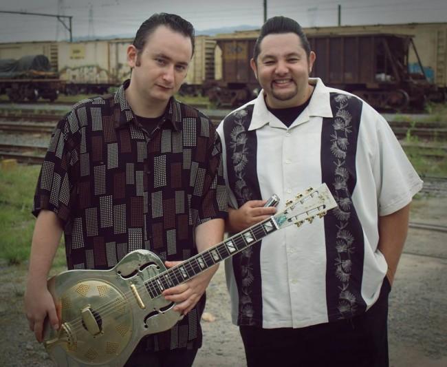 Roger Gutierrez (esq.) e Ivan Marcio (FOTO: DIVULGAÇÃO)