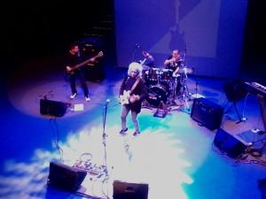 Tony Babalu em apresentação no Centro Cultural São Paulo (Foto: Maurício Gaia)