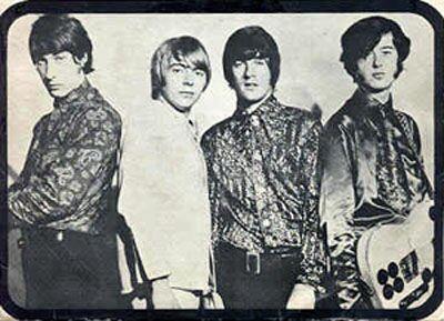 Última formação, que durou do final de 1966 ao começo de 1968 (foto: divulgação)