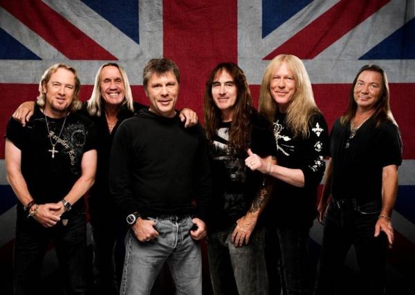 Iron Maiden em 2015: banda deve vir ao Brasil em 2016 (FOTO: DIVULGAÇÃO)