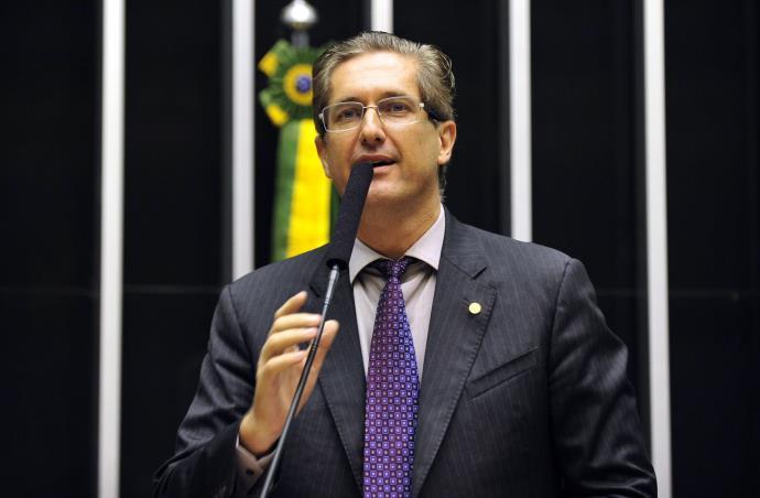Rogério Rosso na tribuna da Câmara dos Deputados (FOTO: Gustavo Lima / Câmara dos Deputados / CP)