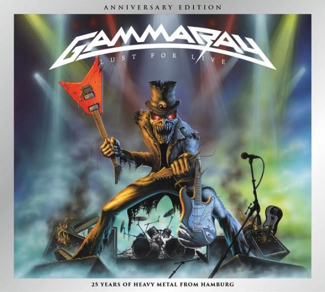 Edições Comemorativas Duplas De CDs Do Gamma Ray Chegam Ao