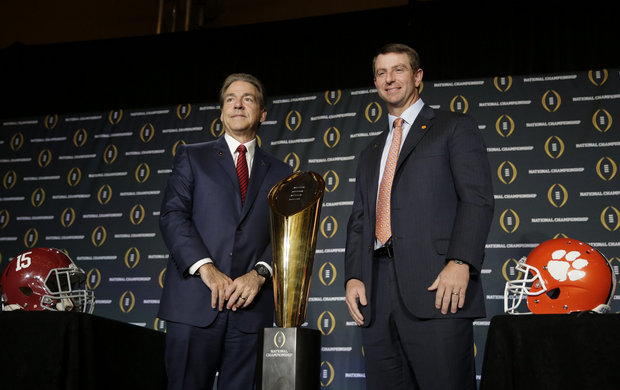 AlabamaClemsonFInalCoaches