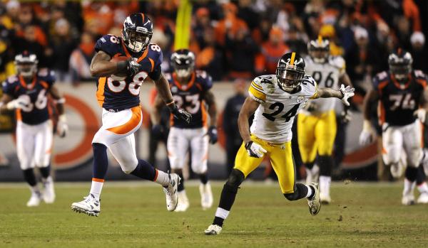 Steelers at Broncos