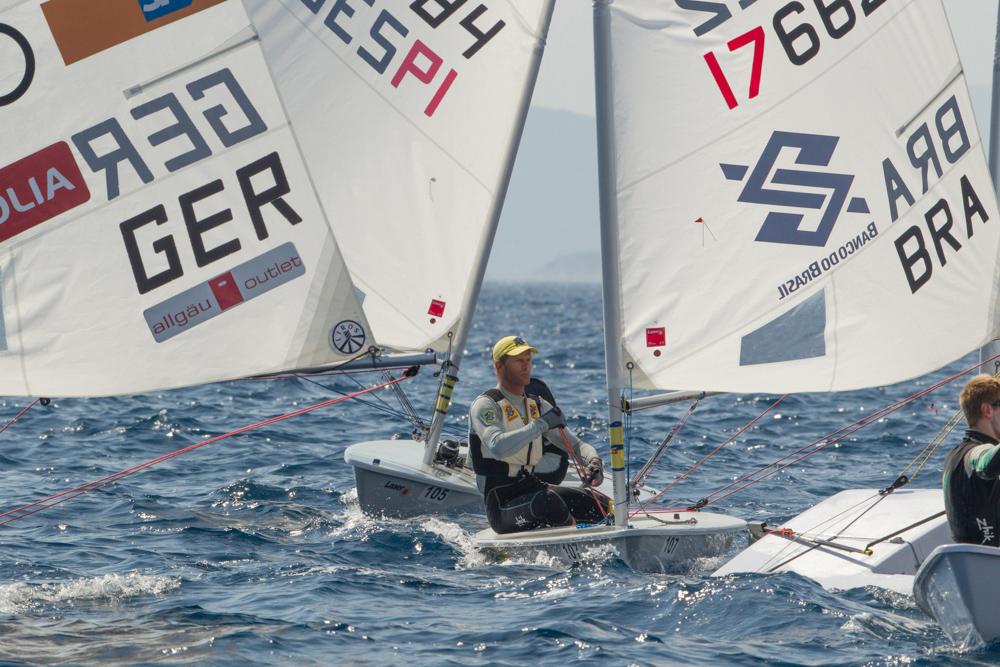 Scheidt em quarto lugar no Mundial (Thom Touw)