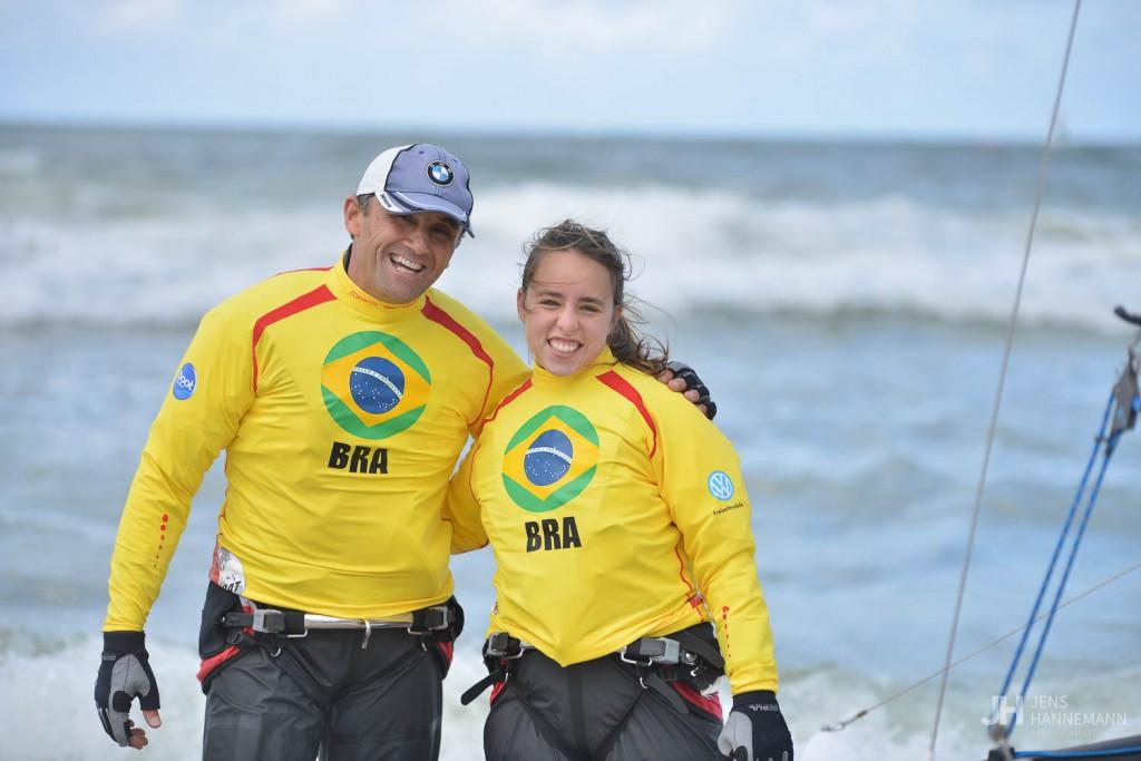 Marcos Ferrari e Caroline Sylvestre (Divulgação)